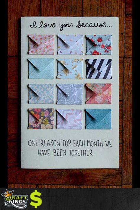reason   monthyear diy birthday card