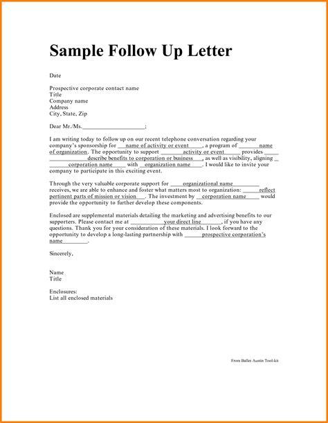 sle follow up letter the best letter sle