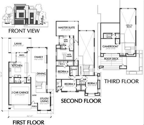 floor plans for sale town house plans modern luxury modern townhouse floor