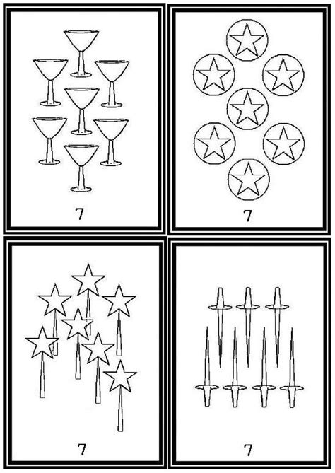printable tarot cards