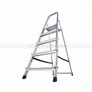 Haushaltsleiter 6 Stufen : stufen stehleiter krause corda haushaltsleiter 5 stufen ~ Eleganceandgraceweddings.com Haus und Dekorationen