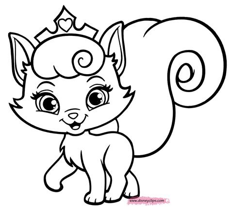 Palace Pets Coloring Pages Google Sgning Coloriage