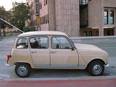 renault old old parked cars 1979 renault 4 gtl