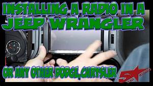 The Basic Steps To Install A Radio In A Jeep Wrangler Or