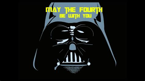 May the force be with you! May the Fourth be with You Darth Vader Rap - YouTube