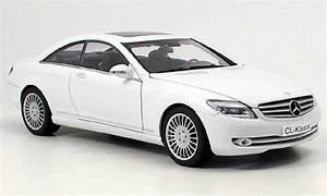 Mercedes Classe C Blanche : mercedes classe cl miniature c 216 blanche 2006 autoart 1 18 voiture ~ Maxctalentgroup.com Avis de Voitures