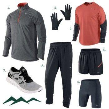 Winter Running Outfit Men