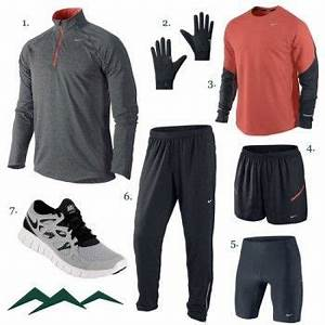 Winter Running Outfit Men