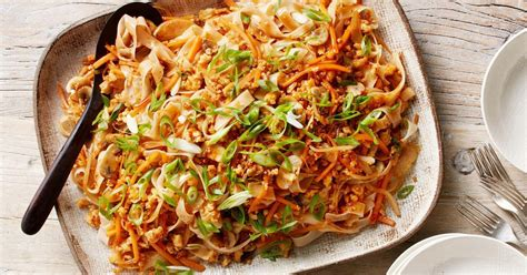 curtis stones stir fried rice noodles  chicken
