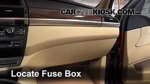 Interior Fuse Box Location  2008-2014 Bmw X6