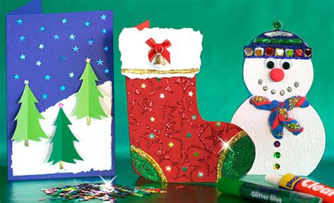 creative christmas cards christmas crafts bostik