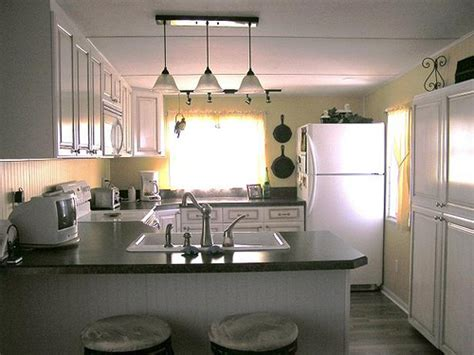 mobile home kitchen when you are here you can t believe