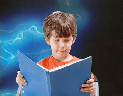 Dyslexic Children Electric Read Reading Say Faster