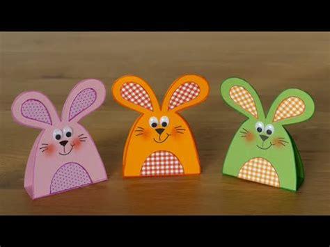 hasenrabbits aus papier basteln mit kindern youtube