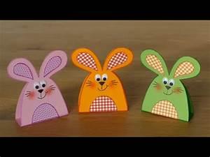 Hase Basteln Einfach : hasen rabbits aus papier basteln mit kindern youtube ~ Orissabook.com Haus und Dekorationen