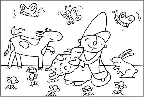 Pim En Pom Kleurplaat by Kleurplaat Knuffels Puk Kleurplaat Knuffels Puk