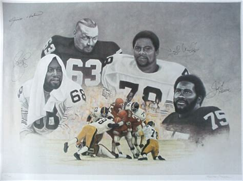 the steel curtain pittsburgh steelers nfl football print