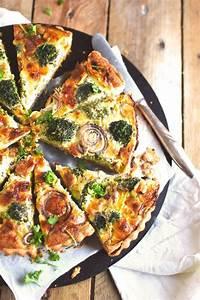 Parmesan broccoli, Onion tart and Tarts on Pinterest