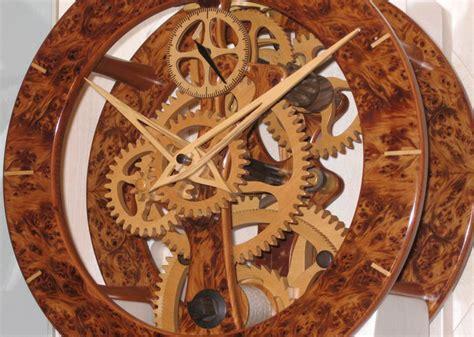 wooden clock detail   wooden clock mechanism wooden clock pinterest clock