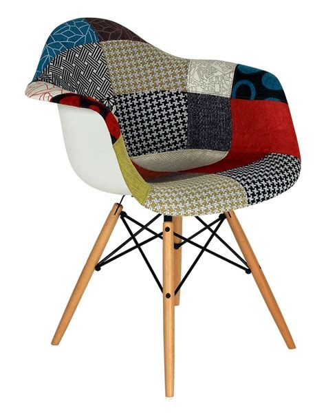 chaise daw charles eames chaise daw patchwork reproduction du modèle disponible à