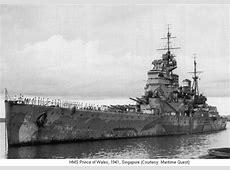 HMS Prince of Wales, British battleship, WW2