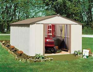 Abri De Jardin Arrow : abris de jardin metal arrow cm1014 12 m2 acier galvanis ~ Dailycaller-alerts.com Idées de Décoration