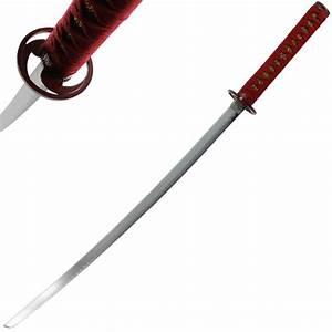 Sasuke Uchiha Naruto Anime Sword - Red