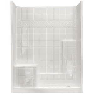 54 X 27 Bathtub Home Depot by Ella Standard 32 In X 60 In X 77 In Walk In Shower Kit
