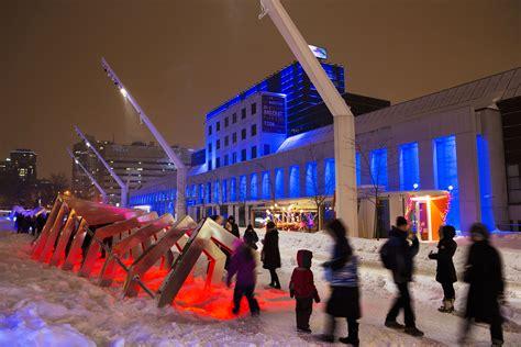 iceberg pour imposer l hiver au centre ville de montr 233 al