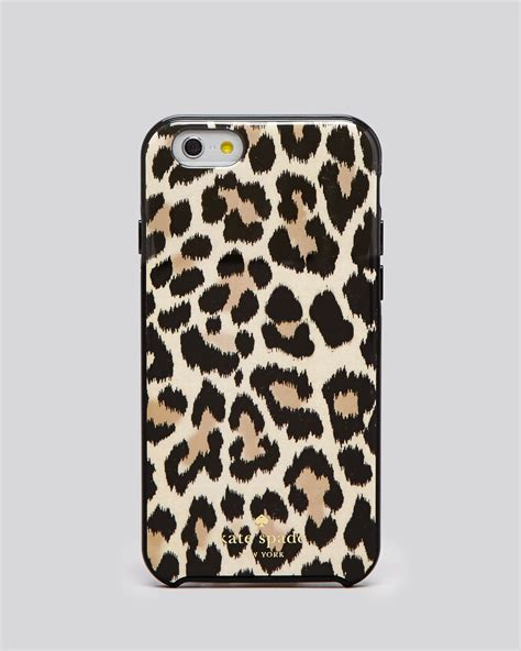 kate spade iphone cases kate spade new york leopard clear phone for iphone 6