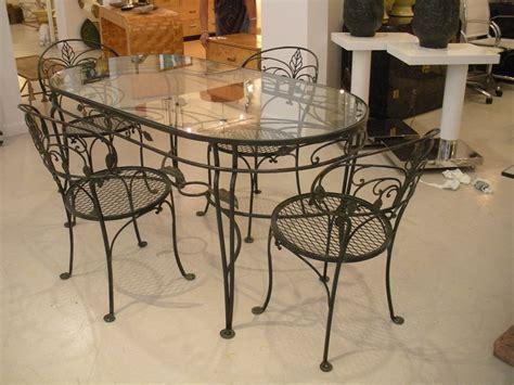 wrought iron glass top dining table decor ideasdecor ideas