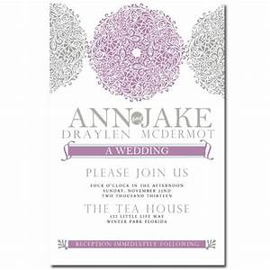 89 best marhna joy gray purple images on pinterest With wedding invitations 100 count