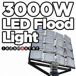 Brightest Exterior Led Flood Lights 3000w Led Flood Light 3000 Watt Brightest Led Lamps For