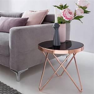 Minibar Für Wohnzimmer : design couchtisch round mini 42 cm rund glas kupfer lounge beistelltisch verspiegelt ~ Orissabook.com Haus und Dekorationen