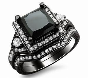 colored diamond engagement rings at a glance black With black diamond wedding rings for her