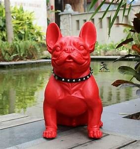 Statue Chien Design : achetez en gros rouge chien statue en ligne des grossistes rouge chien statue chinois ~ Teatrodelosmanantiales.com Idées de Décoration