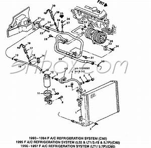 1995 Z28 Lt1 - A  C Hose Connection Diagram - Camaro Forums