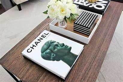 Coffee Table Books Chanel Stack Unique Interior