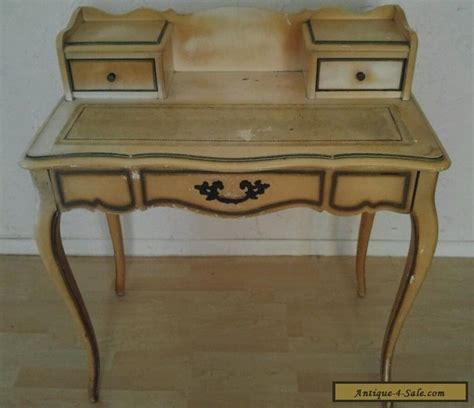 french writing desk for sale antique hammary french provincial leather top 3