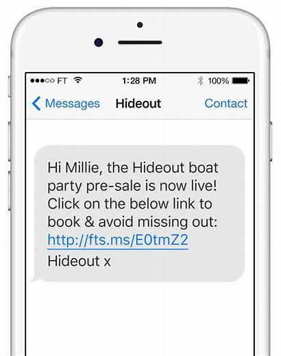 Sms Message Text Marketing Firetext Customers Phone