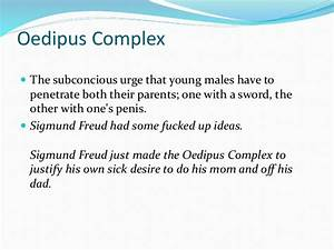 oedipus complex essay