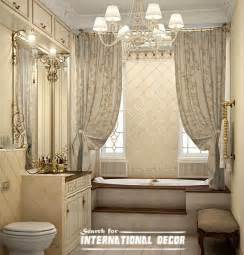 bathroom with shower curtains ideas how to design luxury bathroom in style