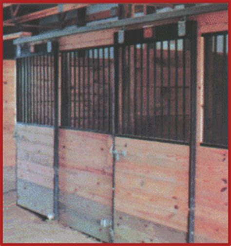 steel horse stalls support post construction   usa