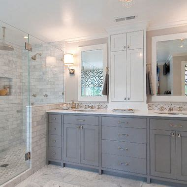 gray master bathroom ideas gray and white bathroom design ideas pictures remodel Gray Master Bathroom Ideas