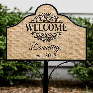 Personalized, Welcome, Magnetic, Yard, Sign, Set