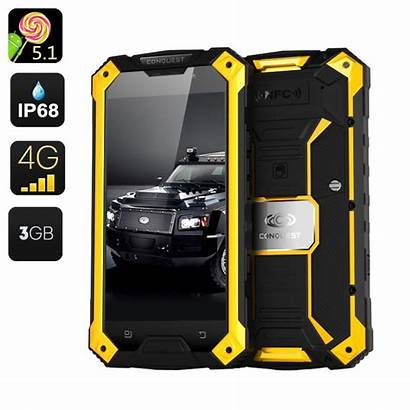 Smartphone Rugged Conquest Pro S6 Gadgets Projector