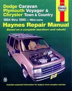 Chrysler Town Country 1984 1995 Haynes Service Repair Manual