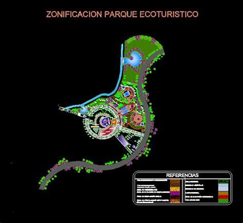 ecotourism park   integral design  pool  dwg