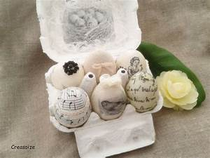 oeufs decoratifs shabby chic paques naissance decoration With deco maison shabby chic