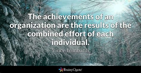 achievements   organization   results